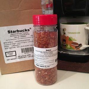 New Unopened Starbucks Caramel Brûlée Topping